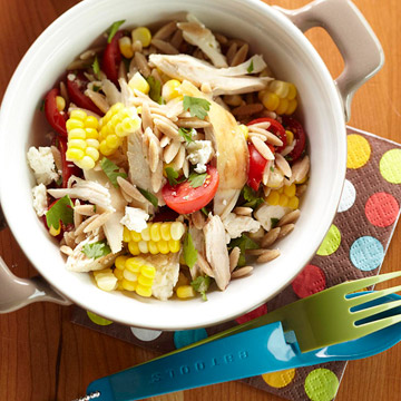 Orzo Chicken Salad with Avocado-Lime Dressing   Diabetic Living Online
