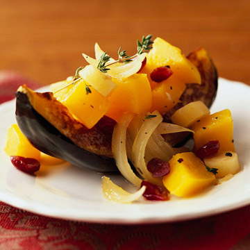 Braised Parsnips, Squash, and Cranberries | Diabetic Living Online
