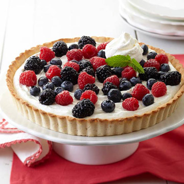 how to make fruit tart with cookie crust