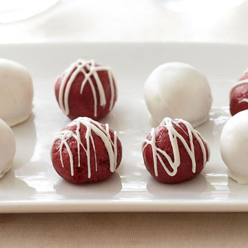Red Velvet Cake Balls Ingredients