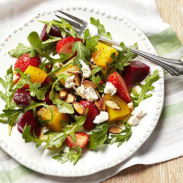 Strawberry-Beet Salad | Diabetic Living Online