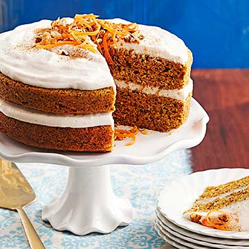 Chai Carrot Cake with Walnuts Diabetic Living Online