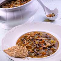 Onion and Mushroom Soup