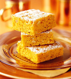 Carrot-Pumpkin Bars