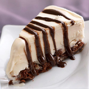 Devil's Food Ice Cream Pie