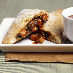 Turkey-Spinach Calzones