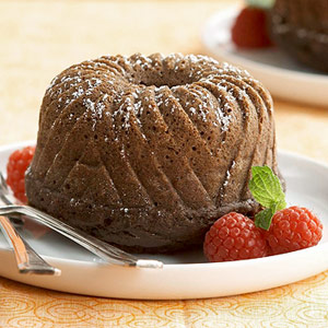 Ginger-Spiced Chocolate Cake