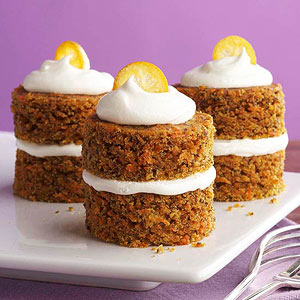Carrot Cupcakes with Fluffy Cream Cheese Frosting | Diabetic Living ...