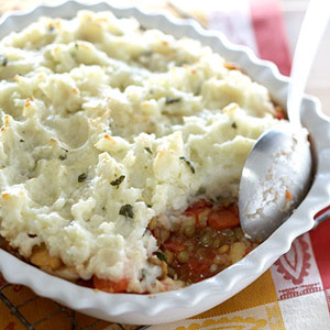 Lentil and Veggie Shepherds Pie