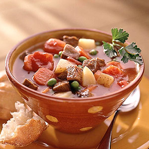 Beef-Vegetable Soup | Diabetic Living Online