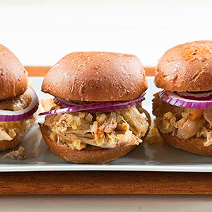 Apricot-Mustard Chicken Sandwiches