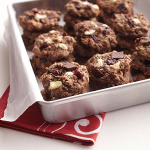 Chocolate Chunk Cherry Cookies