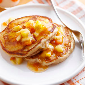 Pear-Ginger Pancakes