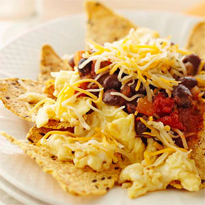 Huevos Rancheros Breakfast Nachos | Diabetic Living Online