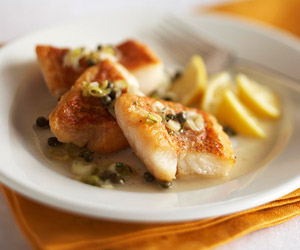 Snapper piccata diabetic living online for Diabetic fish recipes