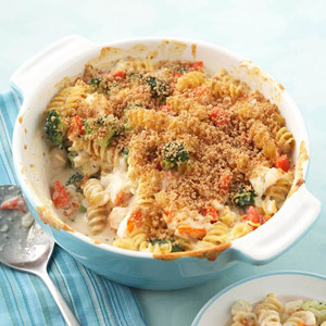 Lobster Mac and Cheese Casserole | Diabetic Living Online