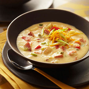 Hearty Ham and Potato Soup