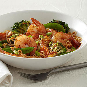 Asian Stir-Fry with Shrimp | Diabetic Living Online