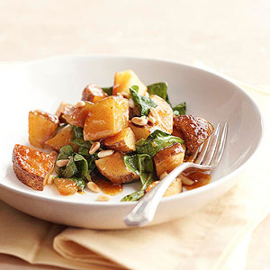 Roasted Potato Salad with Chutney Dressing | Diabetic Living Online