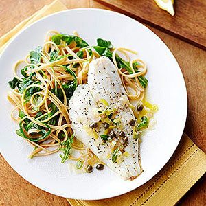 Fish with white wine lemon and capers diabetic living for White wine with fish