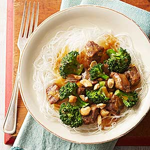 Asian Broccoli and Beef