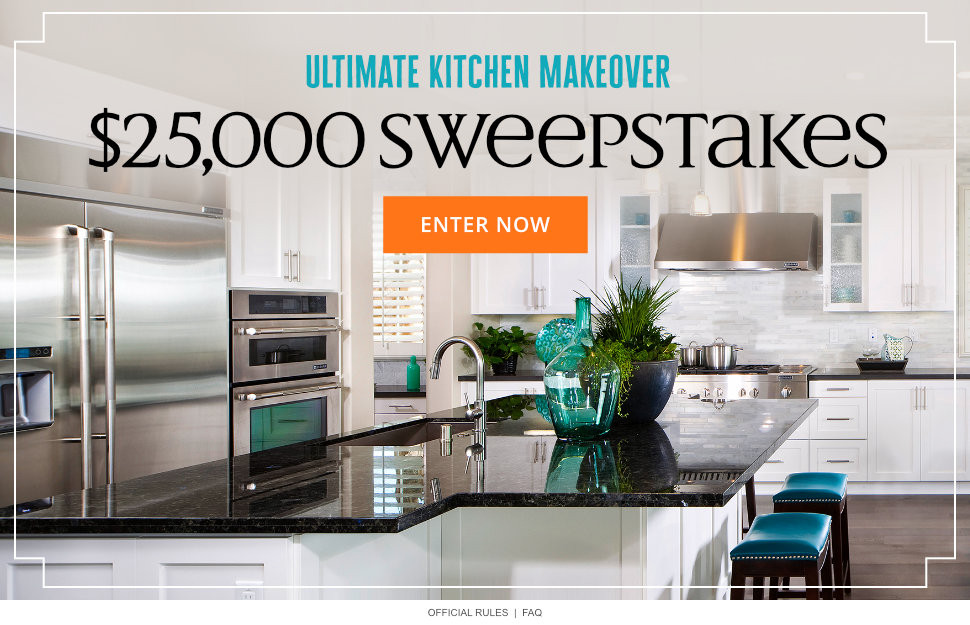 Ultimate Kitchen Makeover $25,000 Sweepstakes