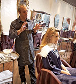 Sharon Pizutiello Getting Highlights