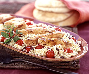 Chicken and Orzo