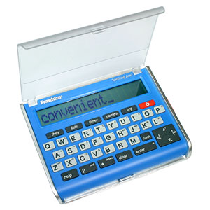 Franklin Ace Spelling Corrector with Thesaurus (SA-209), $20