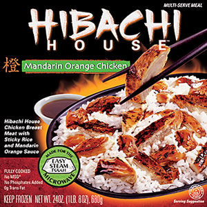 Hibachi House Mandrain Orange Chicken