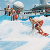 Royal Caribbean Man Surfing