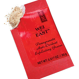 Wei East Pomegranate Exfoliating Grains