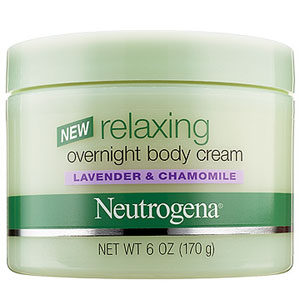 Neutrogena Relaxing Overnight Body Cream