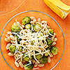 Brussels Sprouts, white beans, bananas