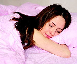 Teens need nine hours of sleep to be well-rested and focus during the day.