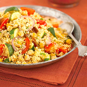 Vegetables with couscous