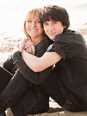 Mitchel Musso and Kathy Musso