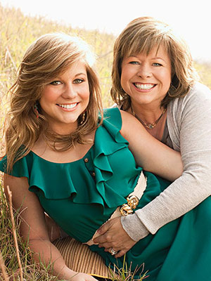 Shawn Johnson and Teri Johnson