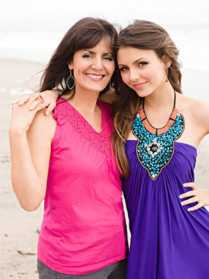 Victoria Justice and Serene Justice-Reed