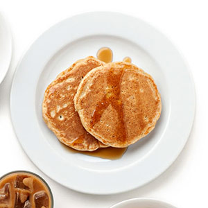 Apple-Nut Pancakes