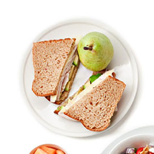 Turkey-Avocado Sandwich