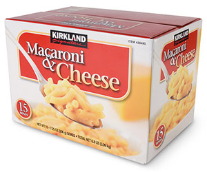 Kirkland Macaroni & Cheese