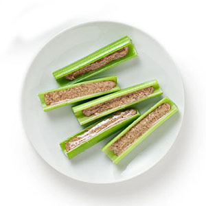 Almond Butter Celery