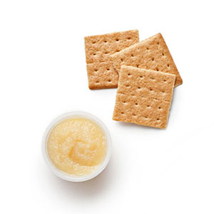 Applesauce &Graham Crackers