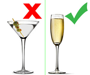 Martini and Champagne