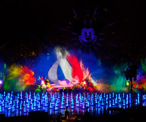 World of Color show, Disneyland Resort