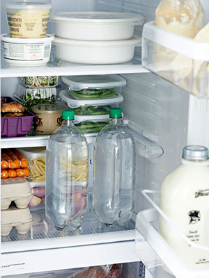 Organized refrigerator
