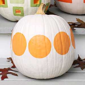 spotted white pumpkin