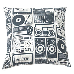 Analog Nights pillow, Aim�e Wilder