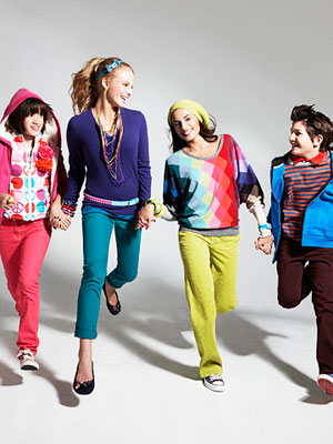 colorful back-to-school fashion
